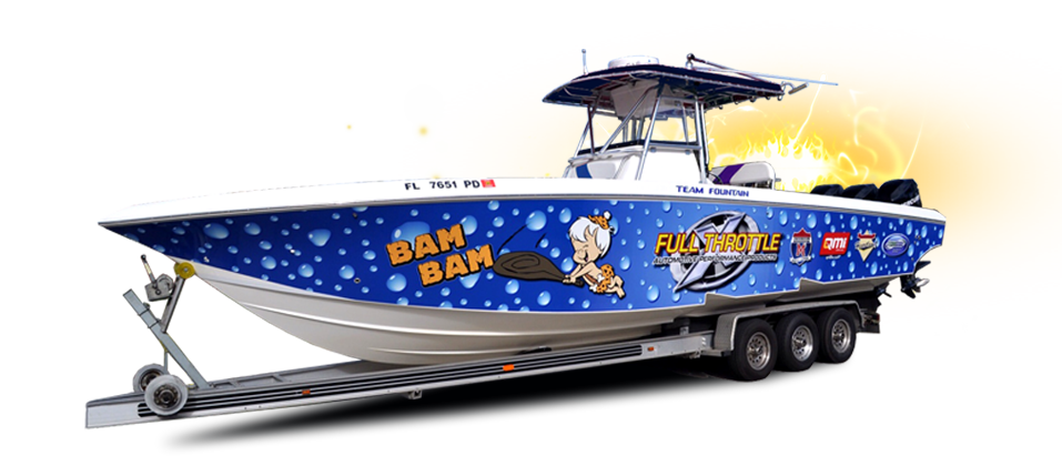 Boat Wraps - Boat Graphics - Orlando Florida - Turn heads on the water